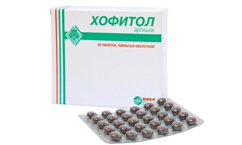 Хофитол применяют при патологиях органов пищеварения