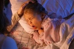 Сухой кашель в ночное время