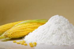 Кукурузный крахмал для лечения порезов