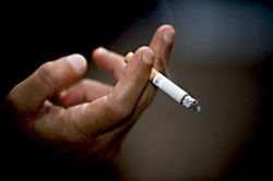 Курение - причина тонзилита