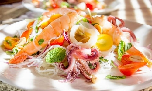 Полезно при заболевании щитовидки употреблять морепродукты