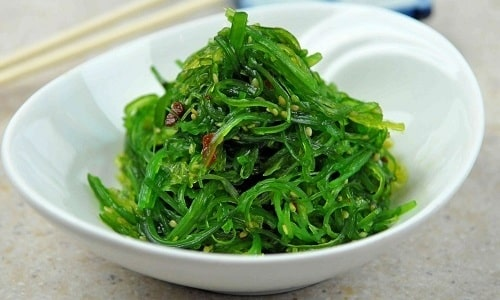 Большое количество йода содержится в морской капусте