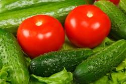 Огурцы и помидоры для снижения холестерина