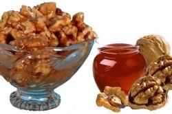 Употребление орехов для усиления эффекта от приема льняного масла