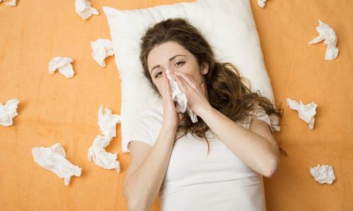 Появление простуды