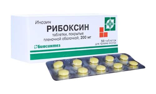 Рибоксин способствует повышению защитных сил организма