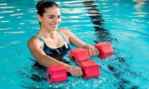 Наряду с методом Бубновского подразумевается применение и водной гимнастики, и некоторых специальных водных процедур