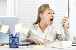Стресс - причина запоров