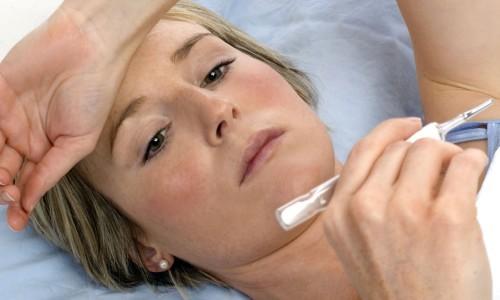 Повышение температуры после операции