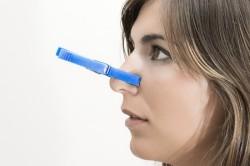 Затруднение дыхания при вазомоторном рините